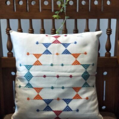 Kashida cushion cover